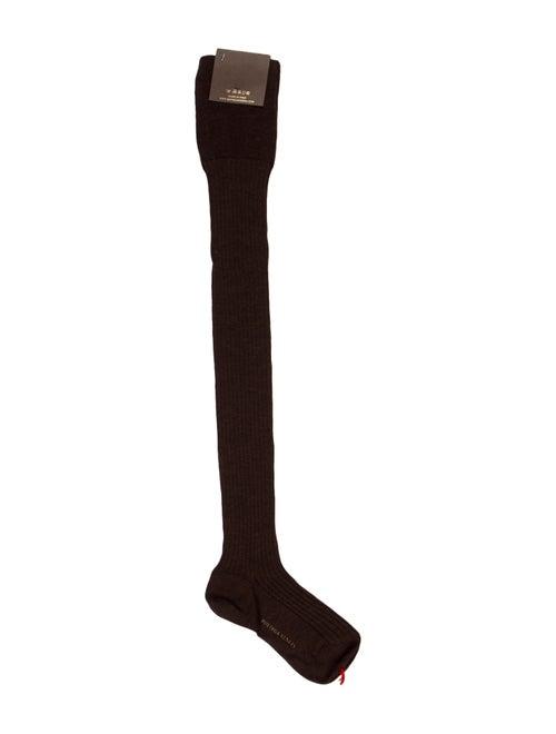 Bottega Veneta Knit Thigh-High Socks w/ Tags