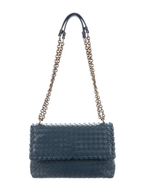 Bottega Veneta Medium Olimpia Bag Blue