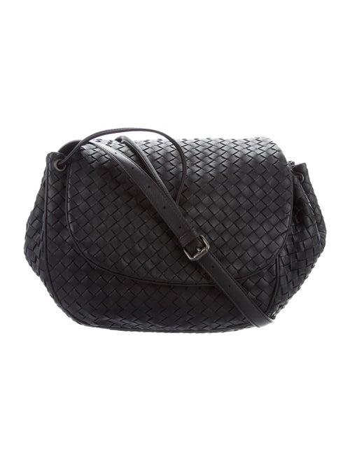 Bottega Veneta Intrecciato Leather Crossbody Bag B