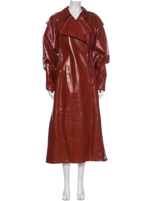 Bottega Veneta 2020 Lamb Leather Trench Coat w/ Ta