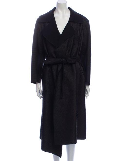 Bottega Veneta Trench Coat Black
