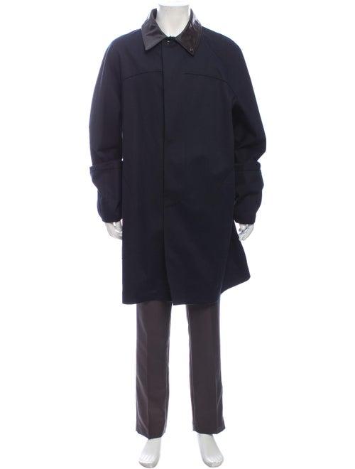 Bottega Veneta Trench Coat Blue