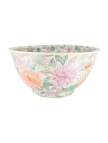 Chinese-Style Porcelain Bowl None