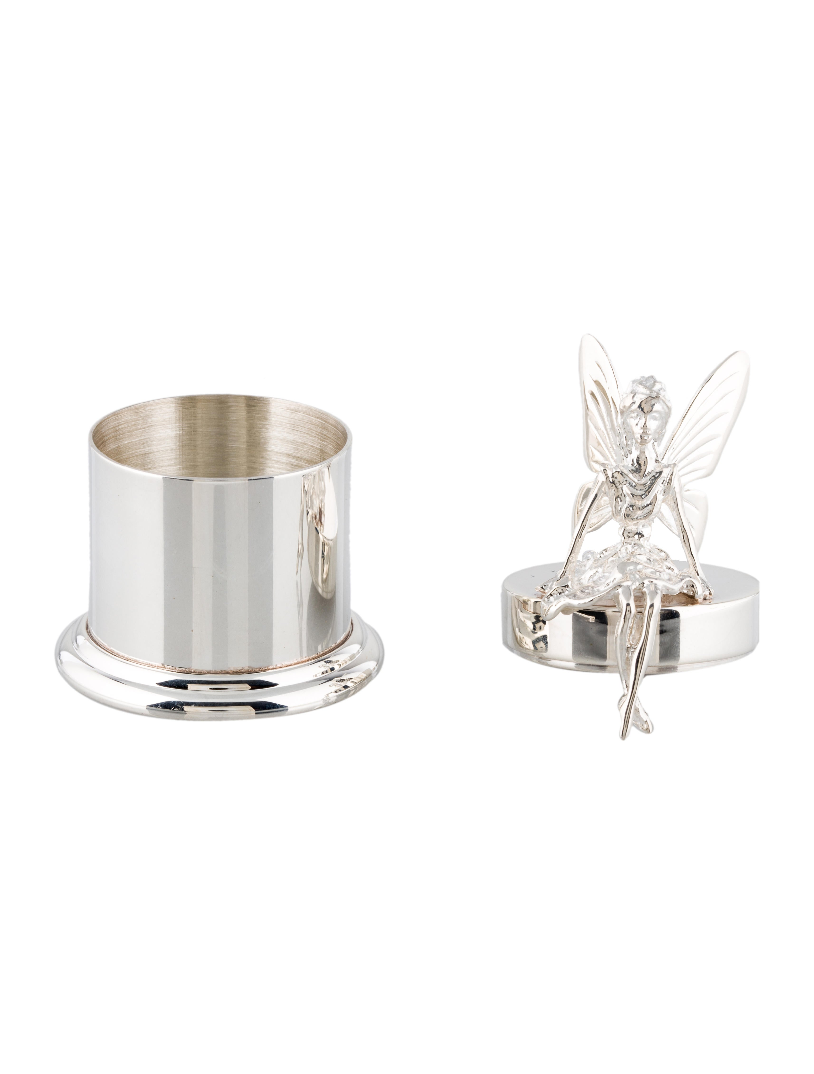 Sterling silver tooth fairy box decor and accessories for Artistic accents genuine silver decoration