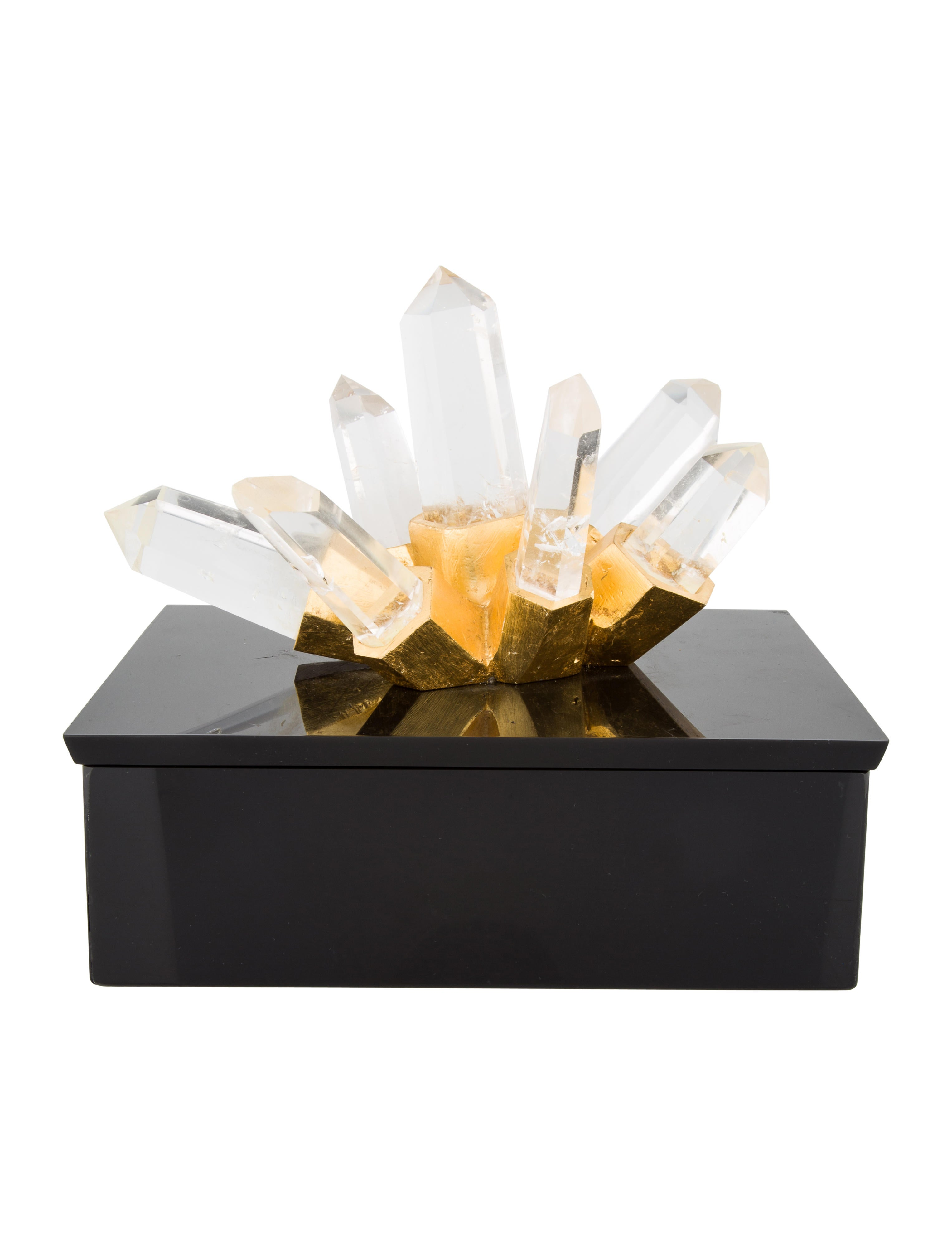 Quartz box decor and accessories box20061 the realreal for Home decor accessories