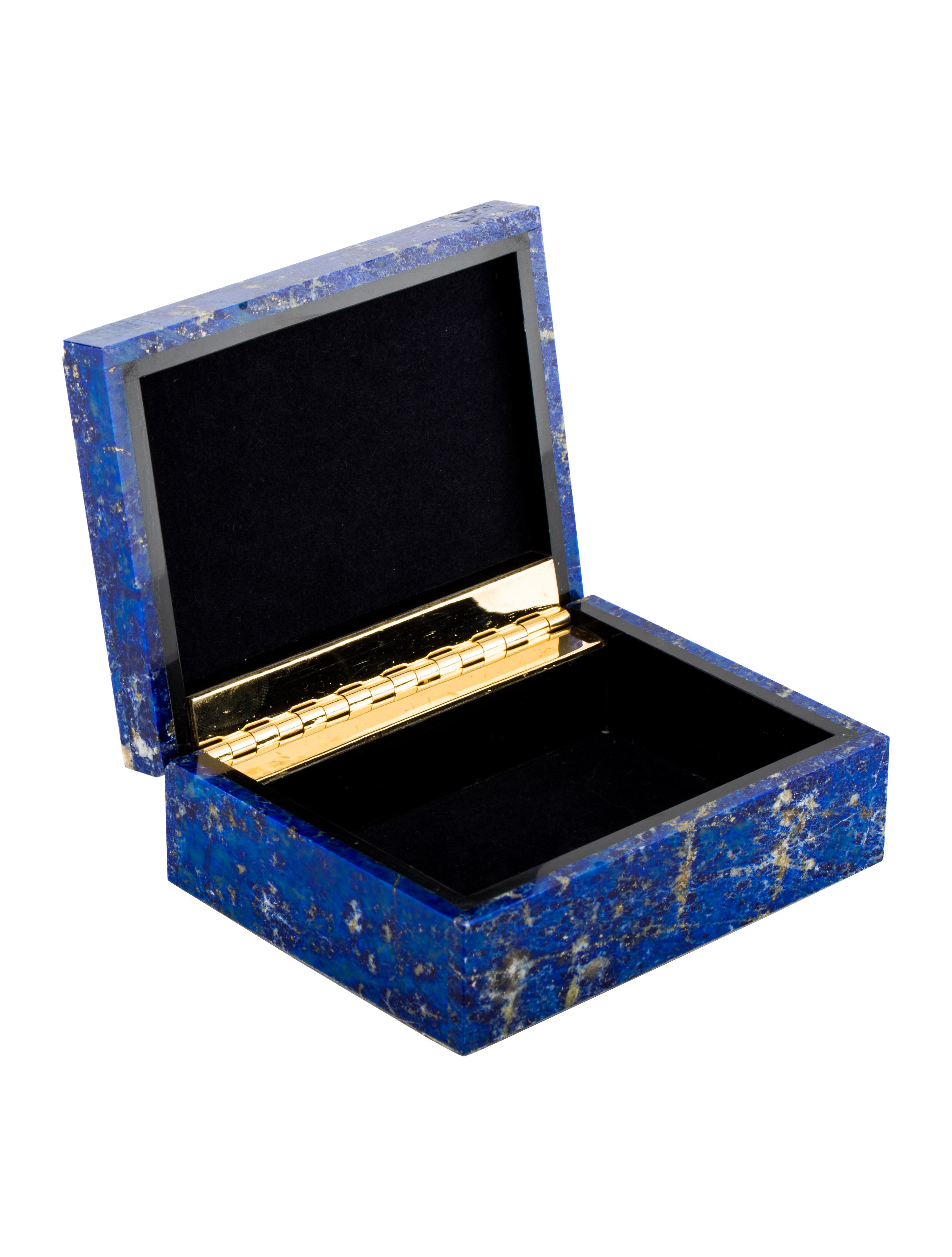 Lapis Lazuli Jewelry Box Decor And Accessories