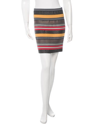 Boy. by Band of Outsiders Printed Embroidered Skirt None