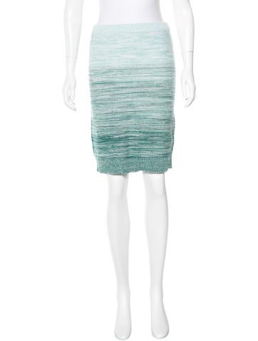 Boy. by Band of Outsiders Knit Knee-Length Skirt None
