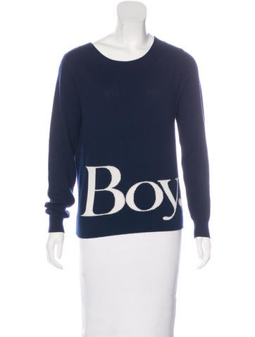 Boy. by Band of Outsiders Cashmere & Wool-Blend Sweater None