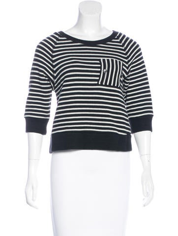 Boy. by Band of Outsiders Striped Knit Sweater None