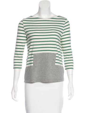Boy. by Band of Outsiders Striped Jersey Top None
