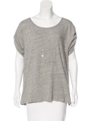 Boy. by Band of Outsiders Short Sleeve Knit Top None