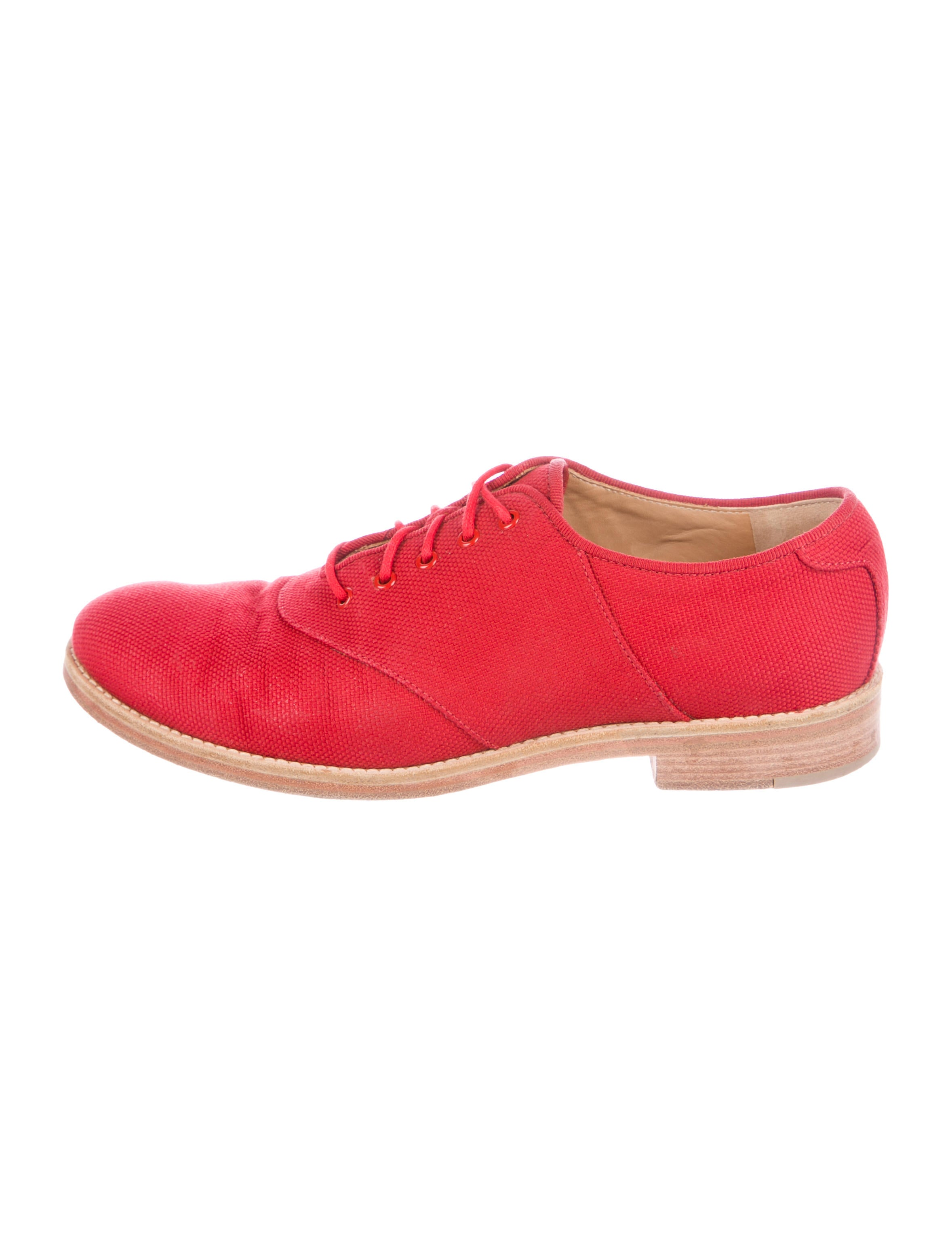 Boy. by Band of Outsiders Leather Round-Toe Oxfords fake sale wholesale price AMCXkOQl