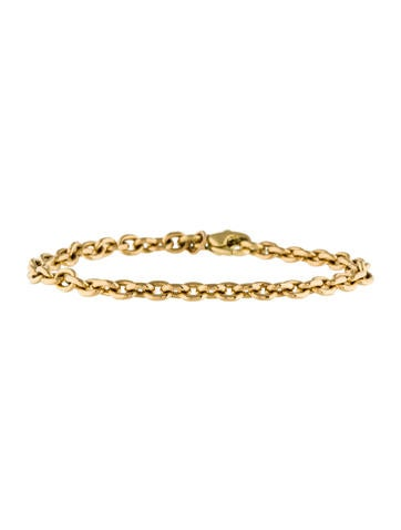 18K Rolo Chain Bracelet