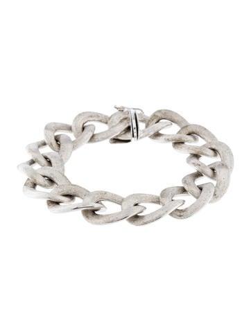 14K Textured Link Bracelet