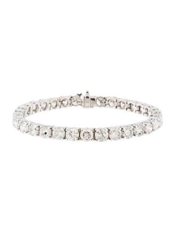 17.61ctw Diamond Tennis Bracelet