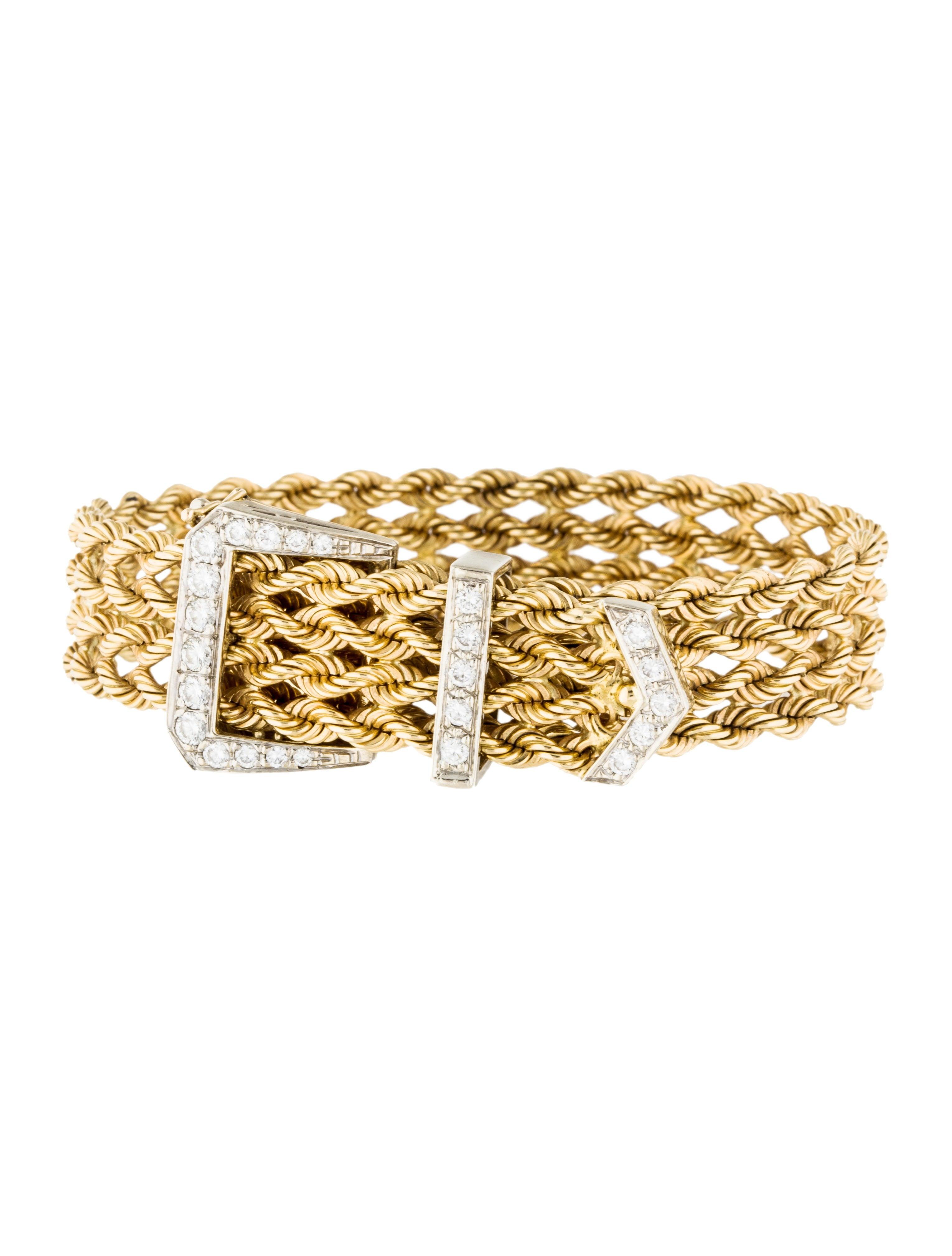 Diamond Anklet With Toe Ring Lc00035 In Anklets From: 14K Diamond Buckle Bracelet - Bracelets - BRACE26911