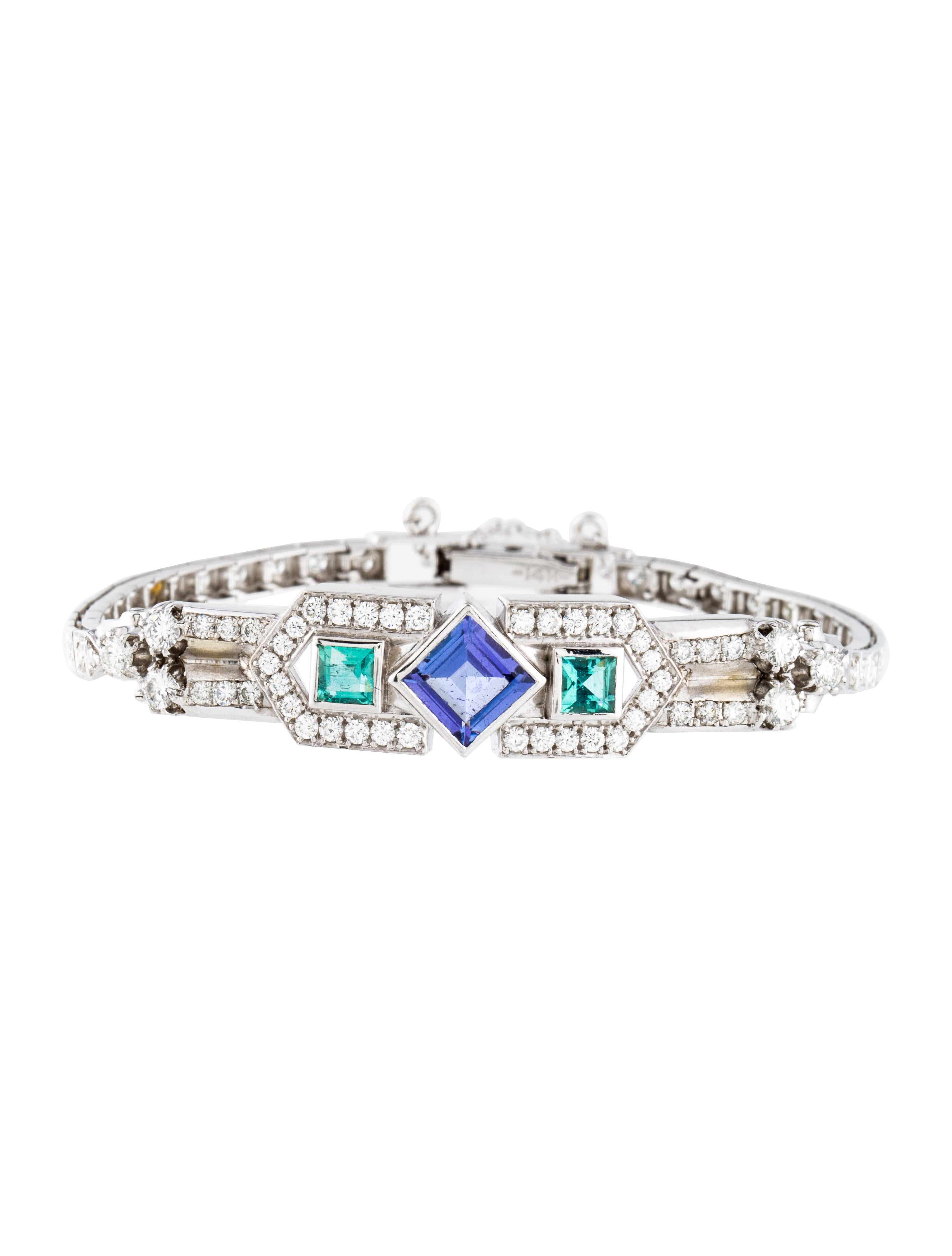 bracelet jewellers solomon collections jewellery collection mark bangles tanzanite bracelets and