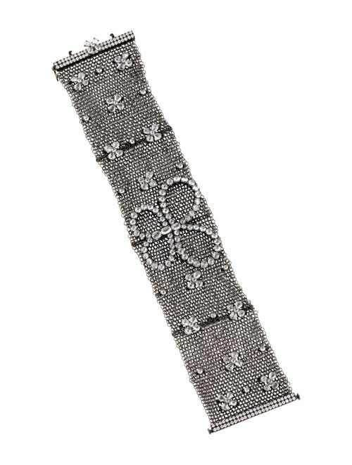 La Reina 18K Diamond Bracelet Black