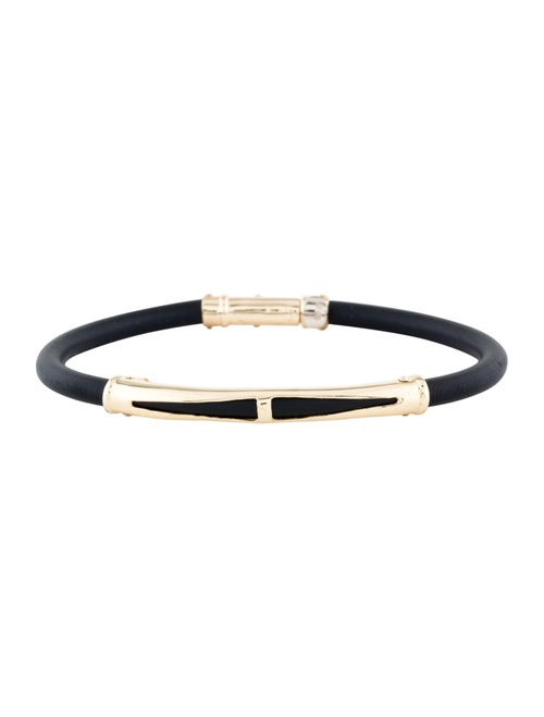 Bracelet 18K Rubber Bracelet yellow