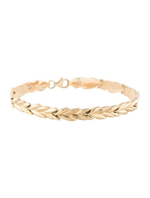 Bracelet 14K Link Bracelet yellow