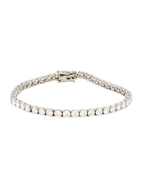 Bracelet 14K Diamond Tennis Bracelet White