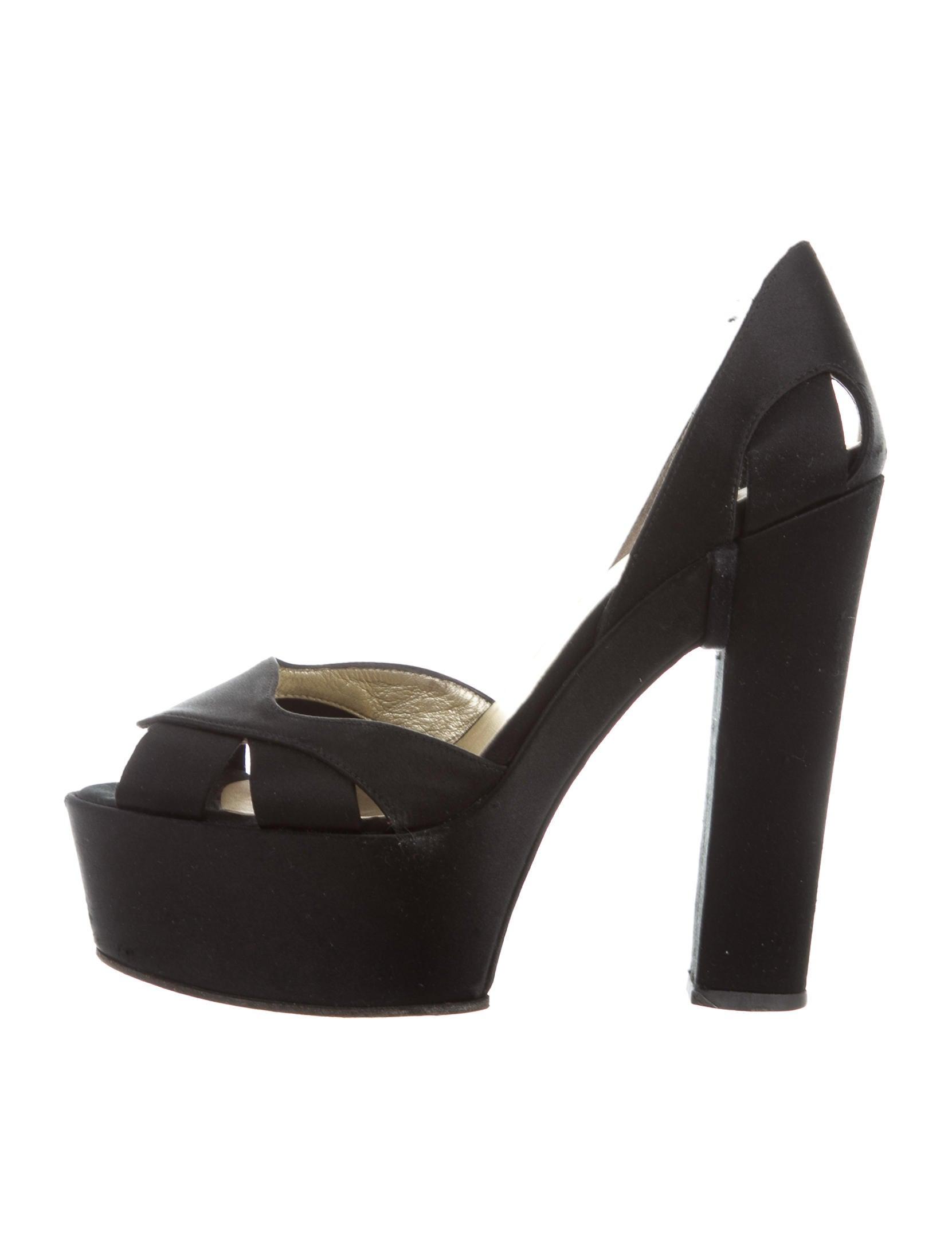 Bruno Frisoni Satin Platform Sandals excellent 2014 unisex cheap online Nah3agJ