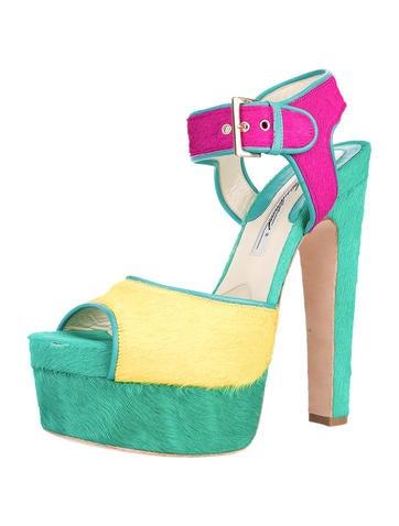 Karin Ponyhair Sandals