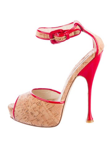 Cork Alexa Pumps