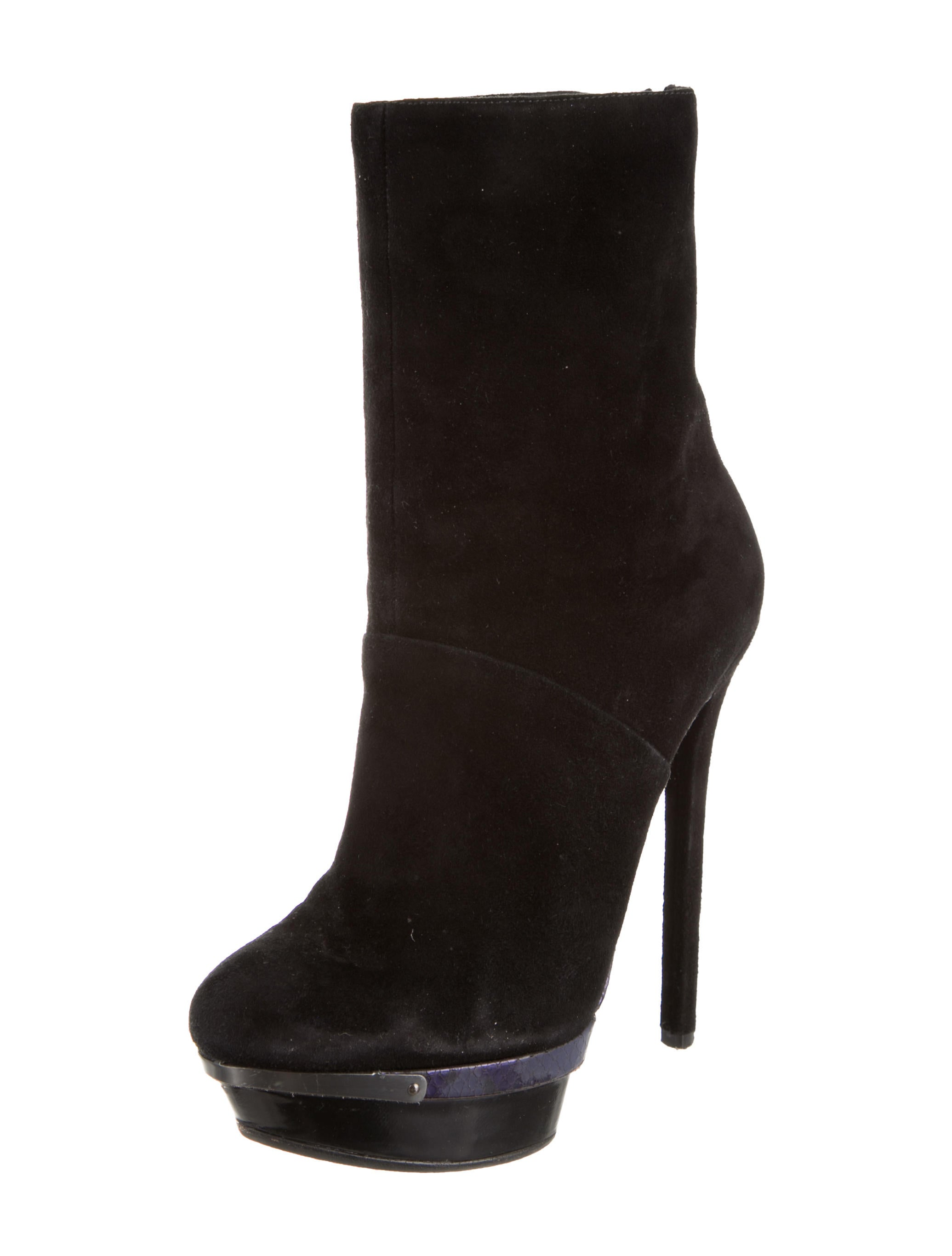 brian atwood suede ankle boots shoes bri21864 the