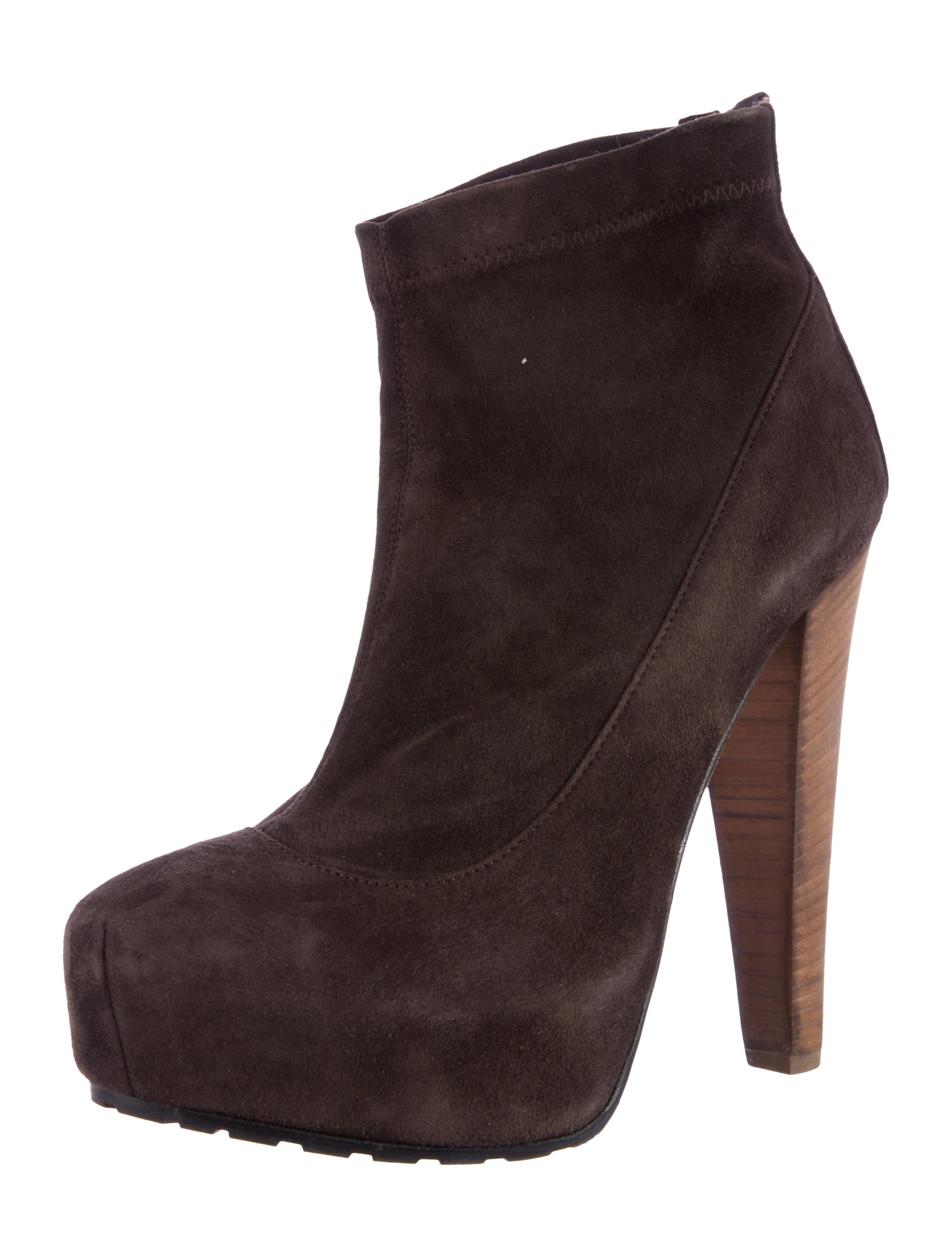 brian atwood suede ankle boots shoes bri22252 the