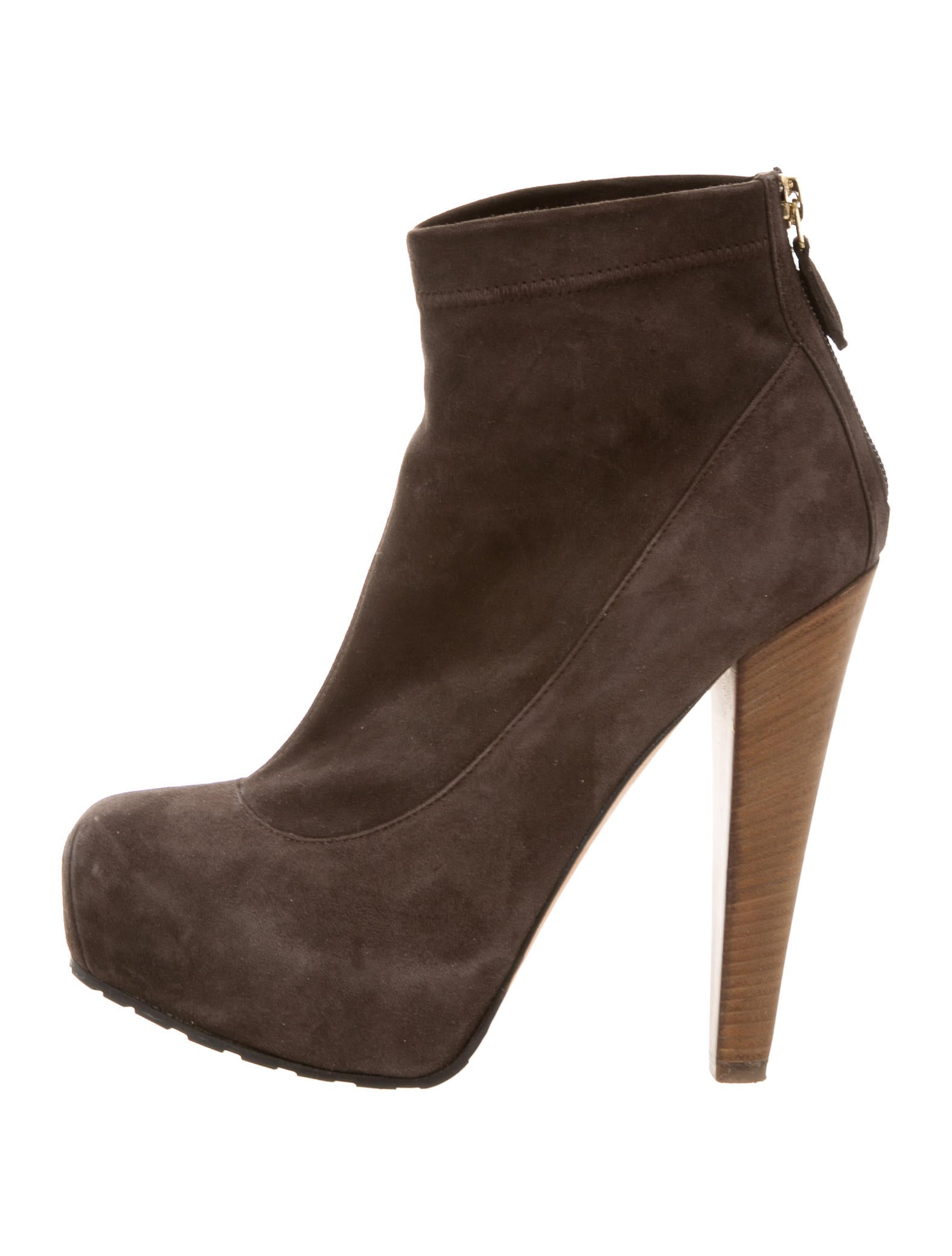 brian atwood suede platform booties shoes bri23196