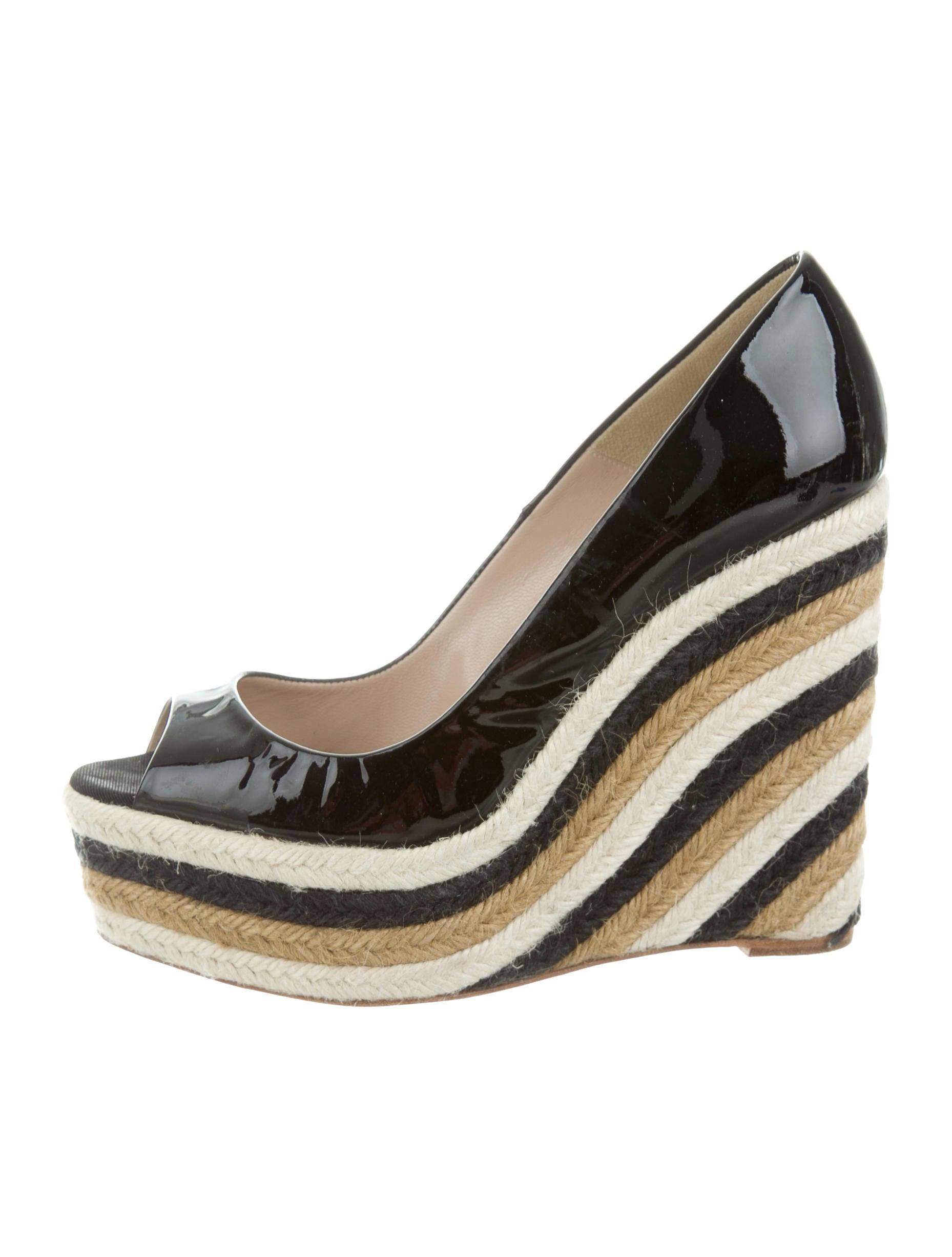 brian atwood peep toe espadrille wedges shoes bri23483