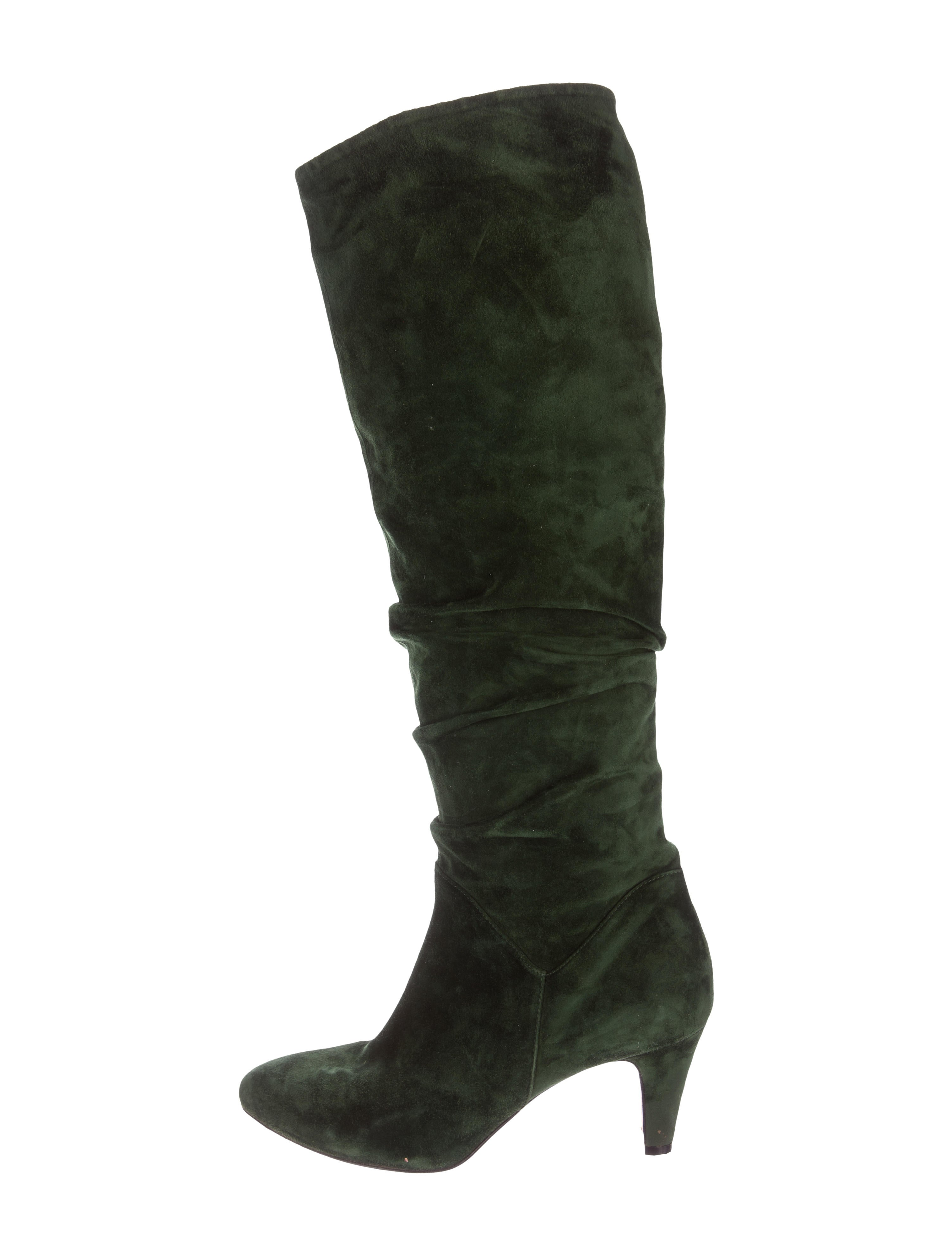 brian atwood suede knee high boots shoes bri23646