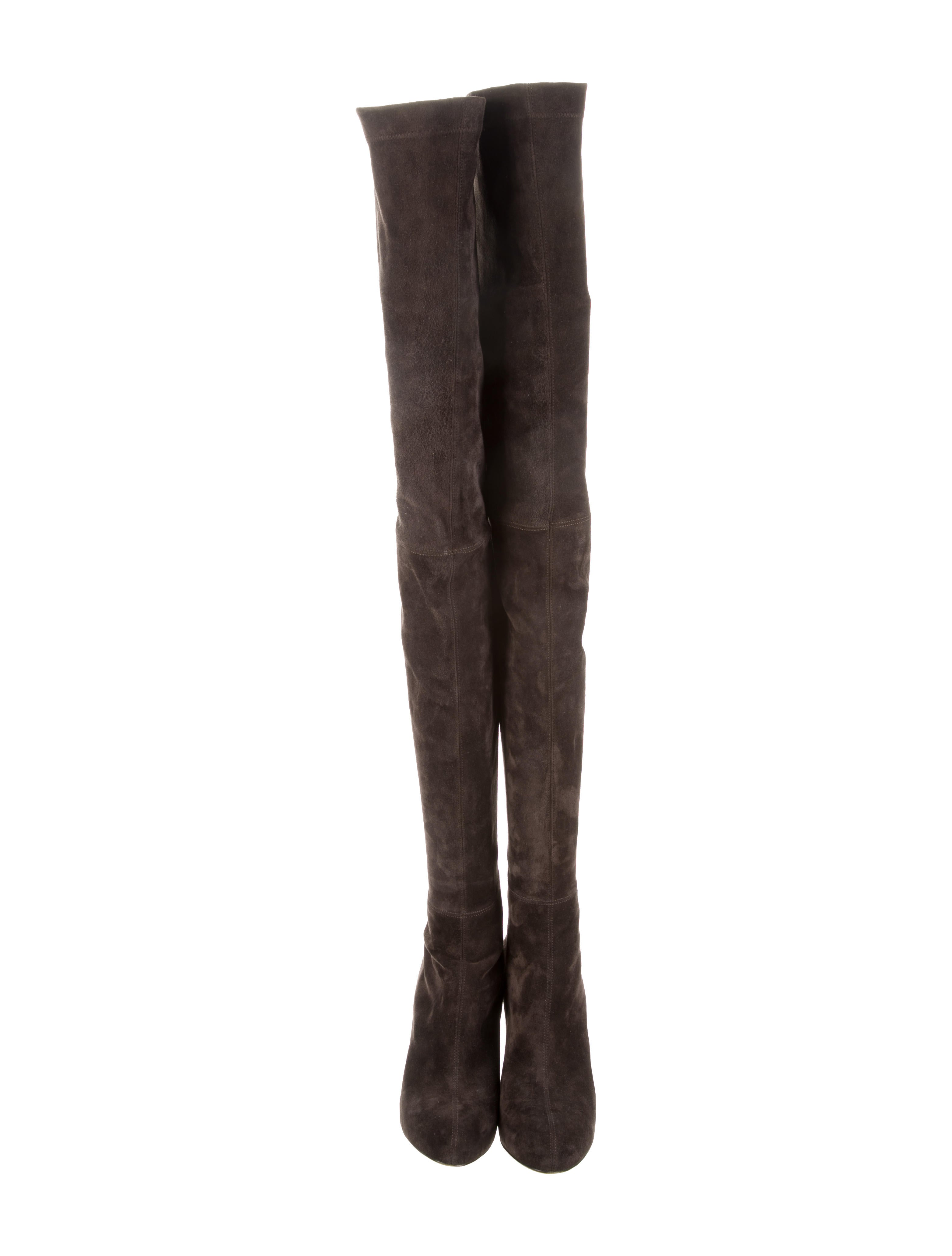 brian atwood suede thigh high boots shoes bri23719