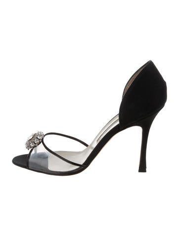shop offer cheap online Brian Atwood Lily Embellished Pumps comfortable v9RPVdi
