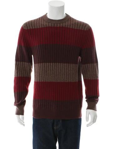 Berluti Cashmere Stripe Sweater None