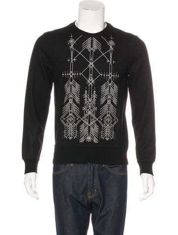 Berluti Embroidered Wool Sweater None