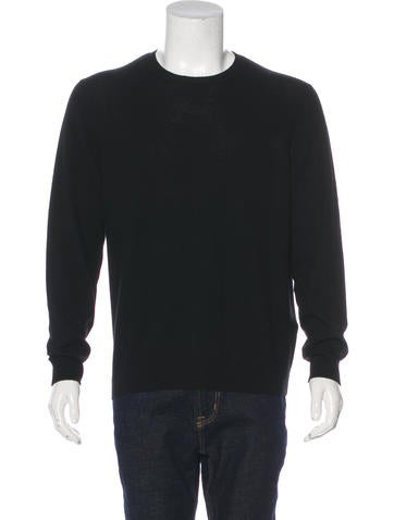 Berluti Cashmere Crew Neck Sweater None