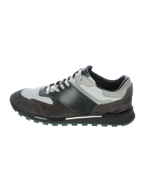 Berluti Suede Low-Top Sneakers grey