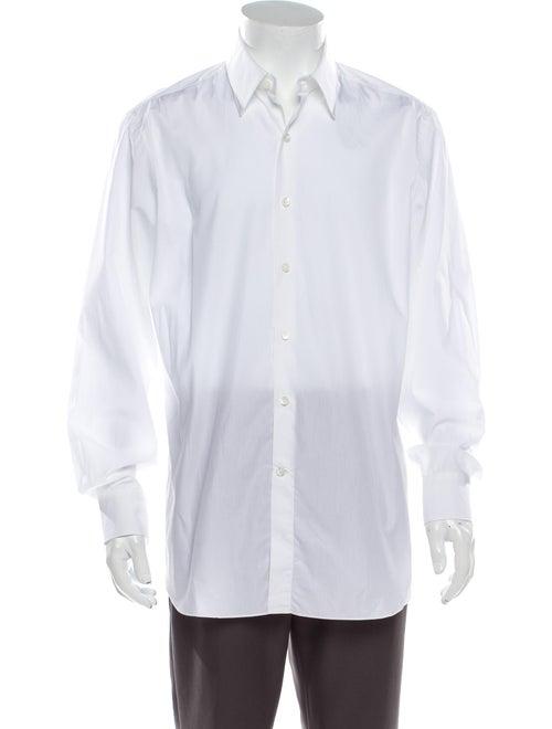 Berluti Long Sleeve Dress Shirt White