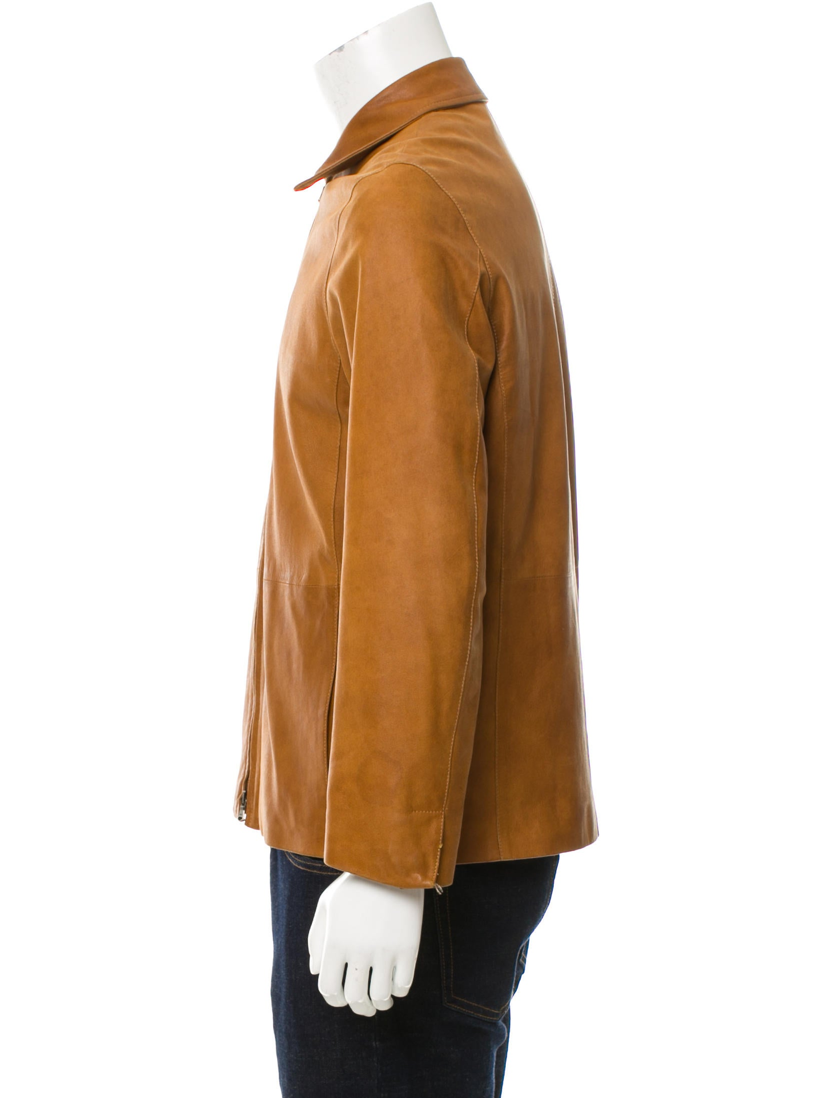 Bruno magli leather jacket