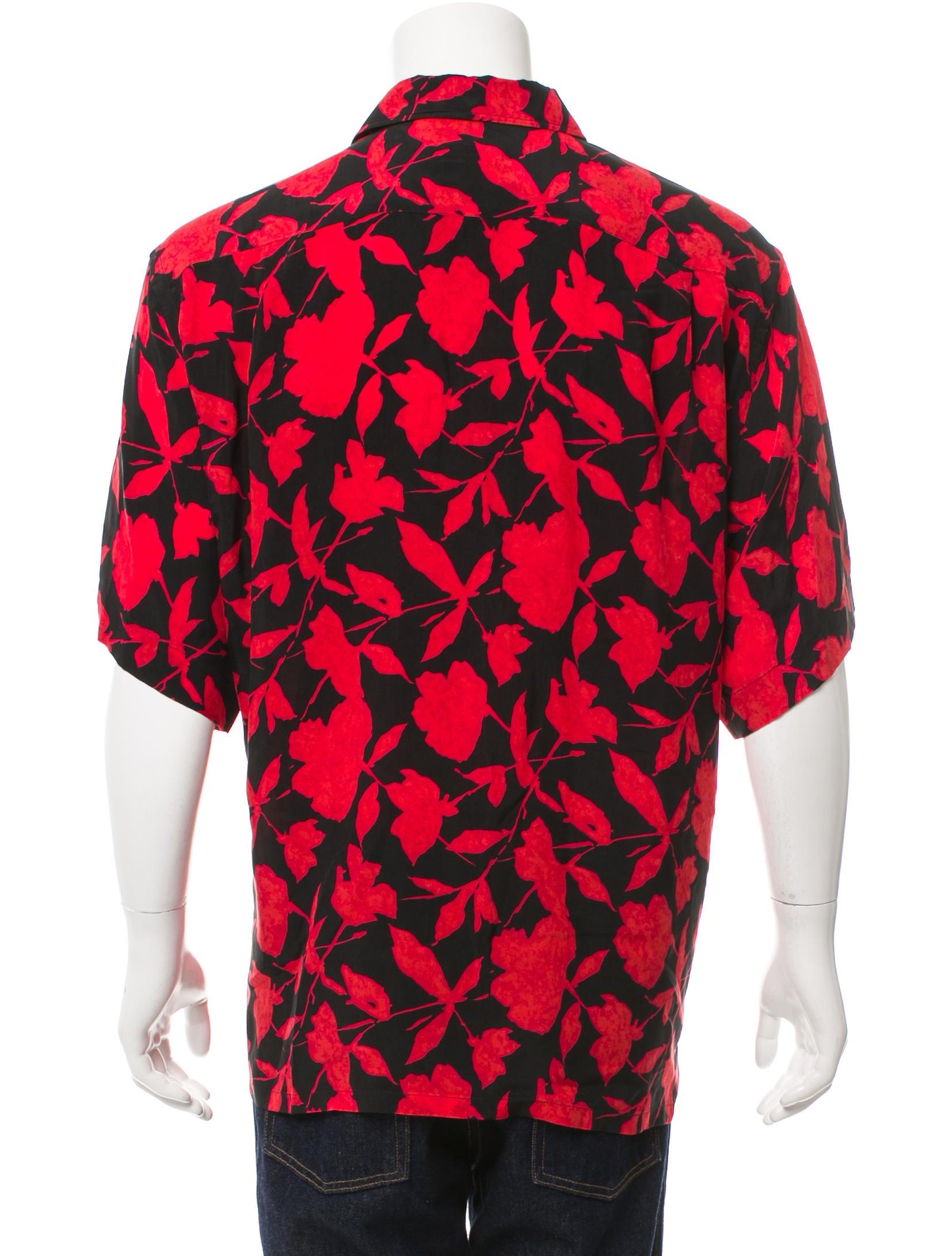 Brioni floral print button up shirt clothing bro21430 for Floral print button up shirt