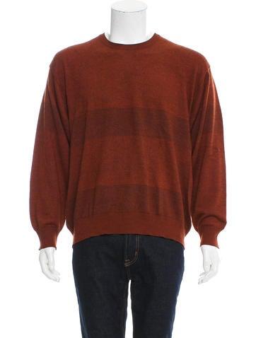 Brioni Crew Neck Knit Sweater None