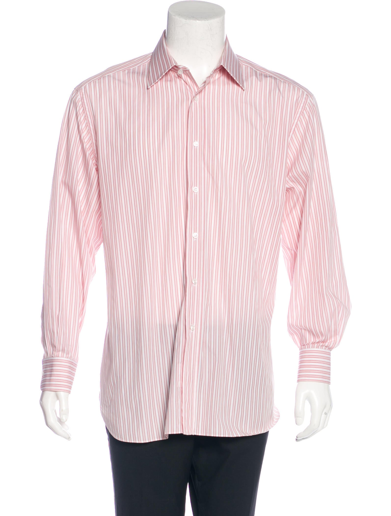 Brioni Striped French Cuff Shirt Clothing Bro21850