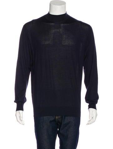 Brioni Cashmere & Silk Sweater None