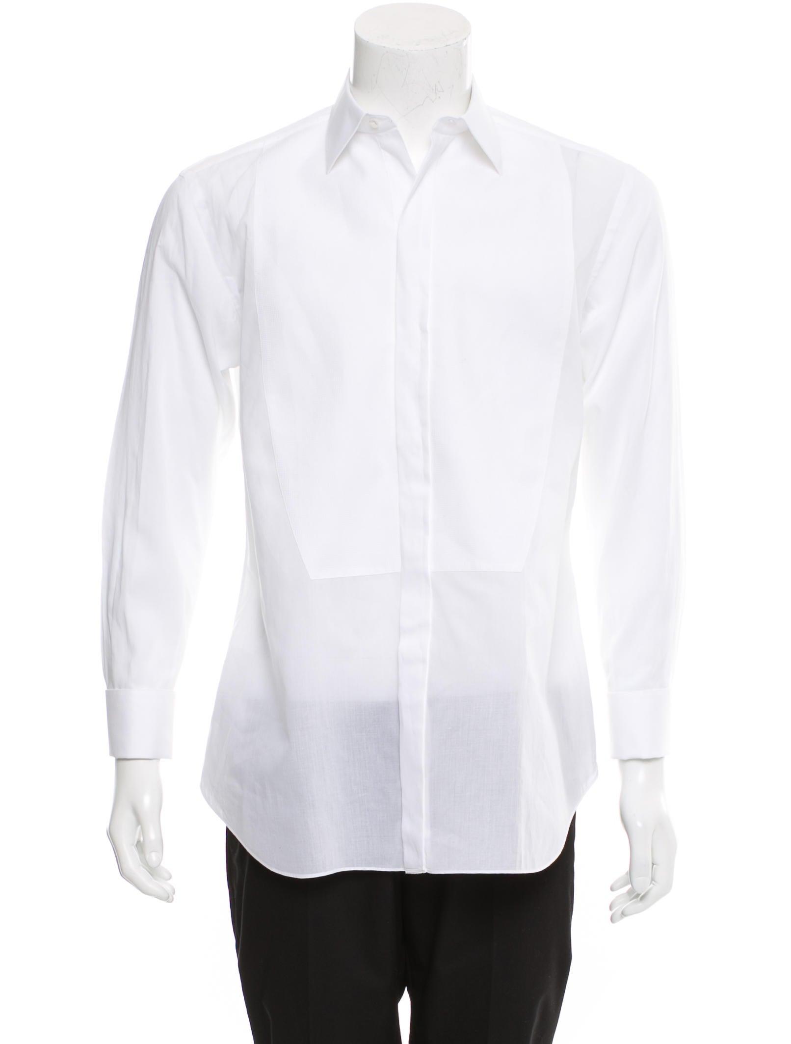 Brioni french cuff tuxedo shirt clothing bro22411 for Tuxedo shirt french cuff