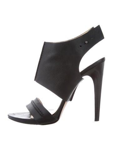 sale websites buy cheap browse Brioni Leather Ankle Strap Sandals wplVuDroZY