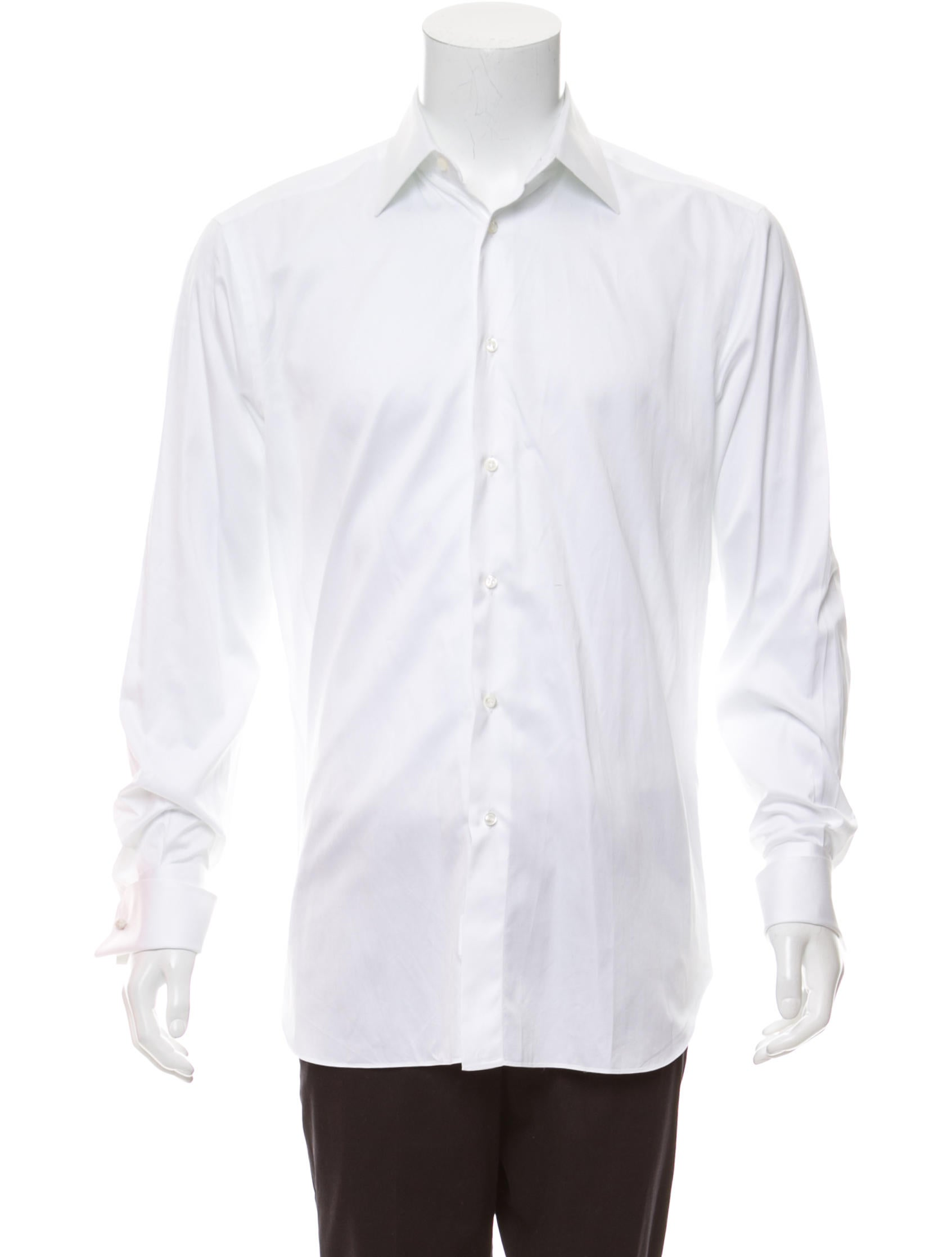 Brioni French Cuff Dress Shirt Clothing Bro24503 The Realreal