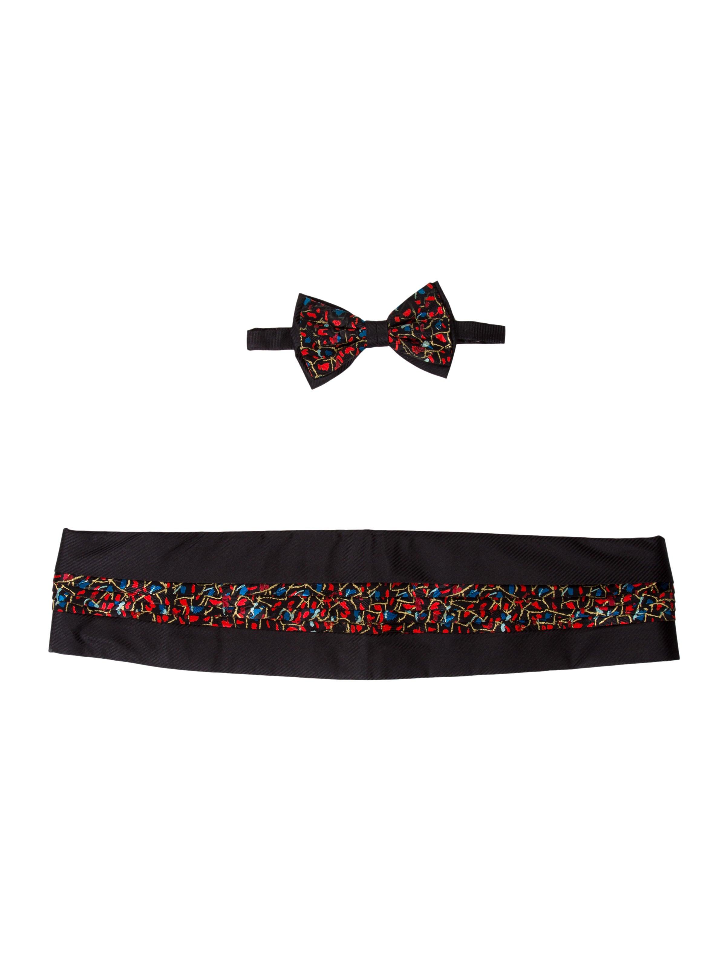 c026eda9c254 Brioni Cummerbund & Bow Tie Set - Suiting Accessories - BRO25911 ...